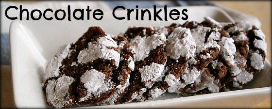 chocolate crinkles featured