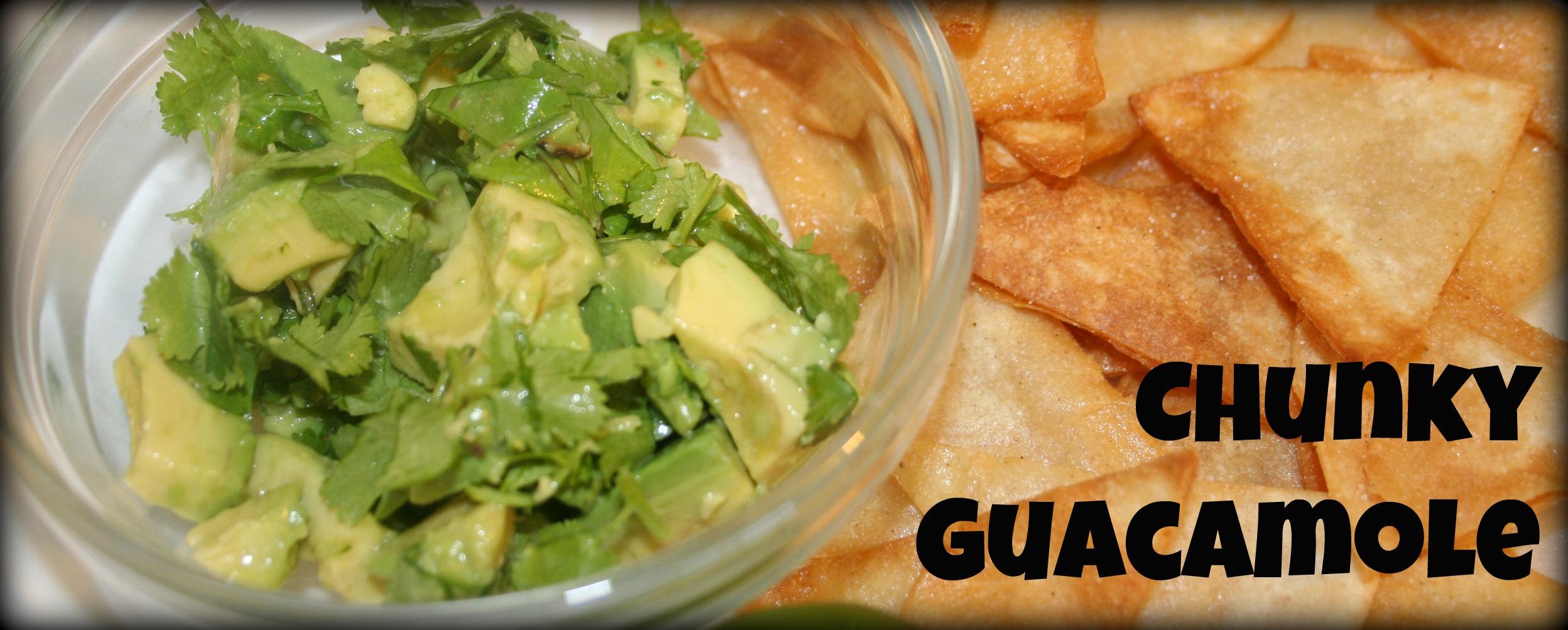 Chunky Guacamole Slider
