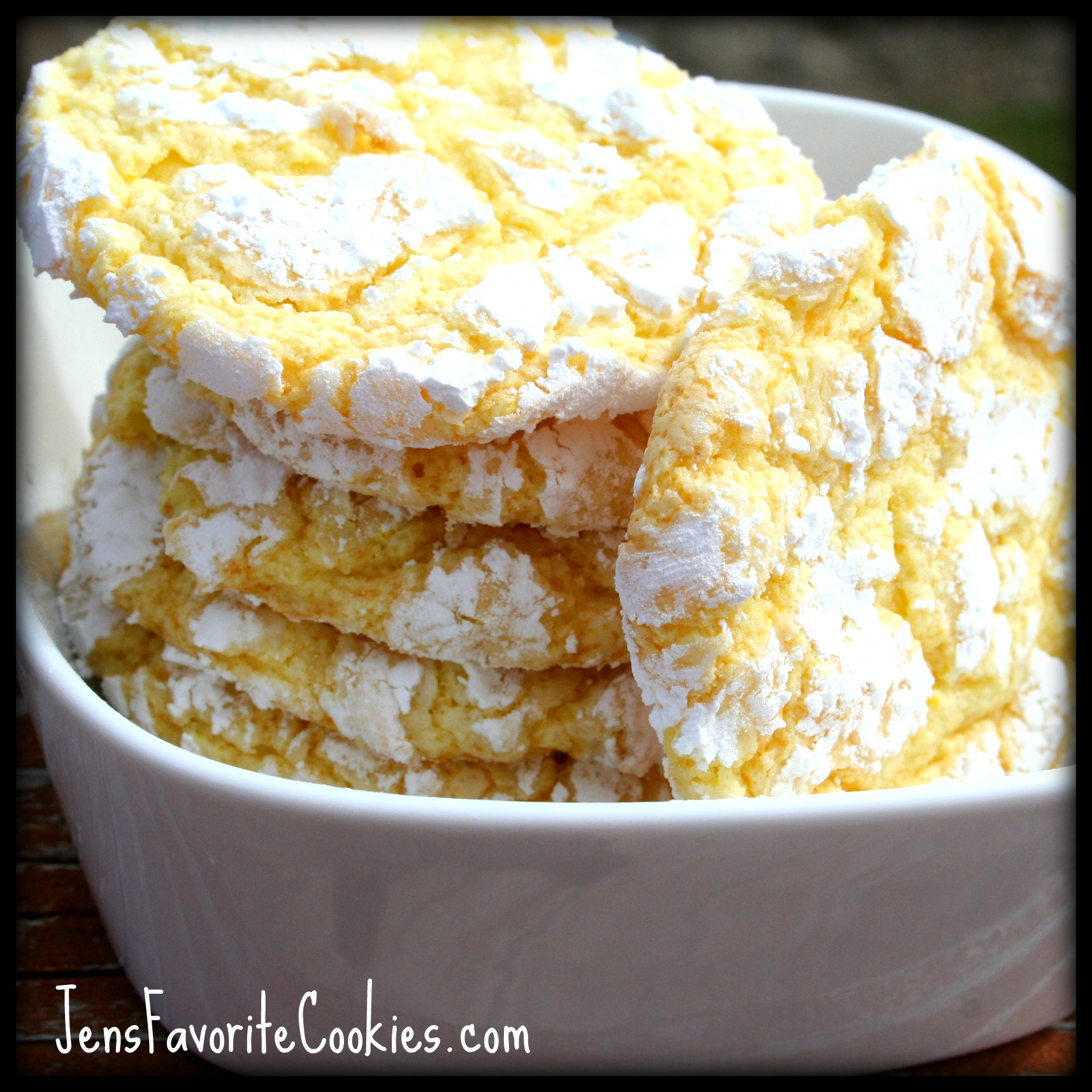 lemon crinkles cookies
