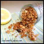 coconut ginger granola