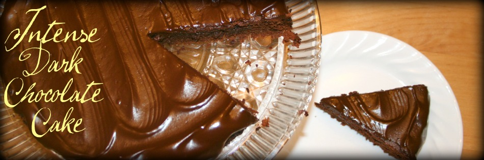 Dark Chocolate Cake Featured