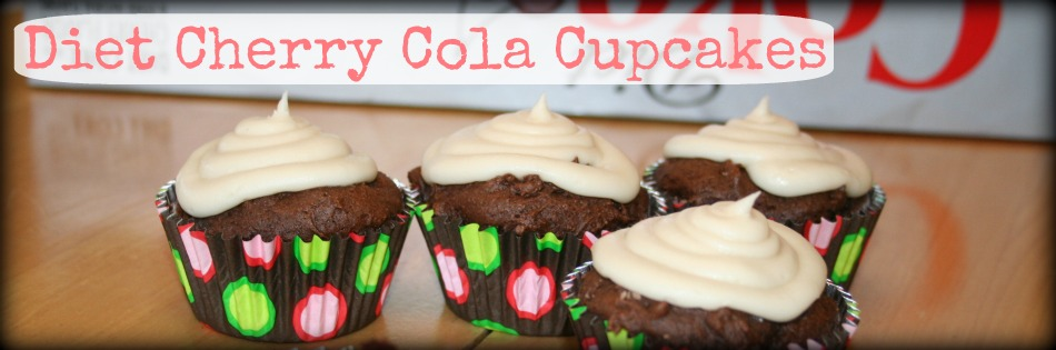 Diet Coke Cupcakes Featured