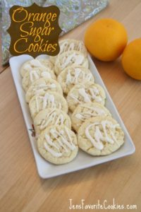 Orange Sugar Cookie Recipe