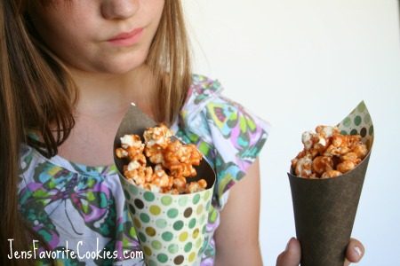 Butterscotch Popcorn from JensFavoriteCookies.com