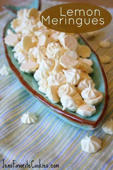 Lemon Meringue Cookie