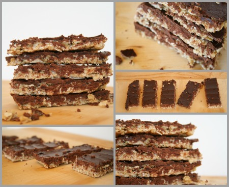 Tutorial granola bars