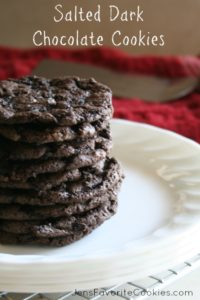 Dark Chocolate Cookie recipe