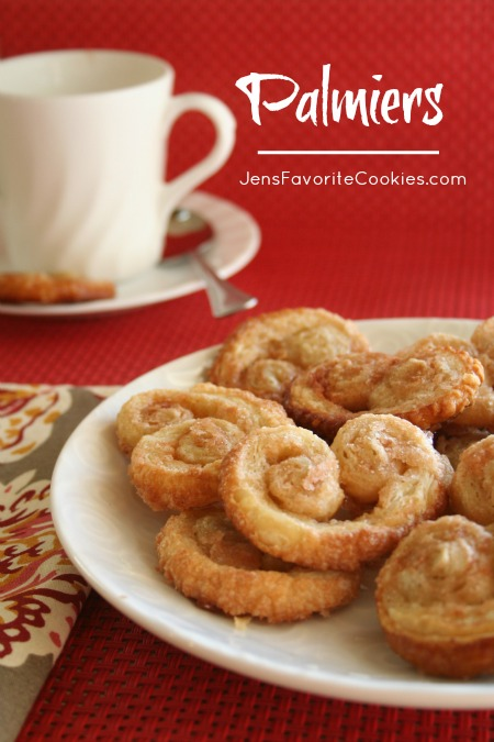 Cinnamon Palmiers (Elephant Ears) | Jen's Favorite Cookies