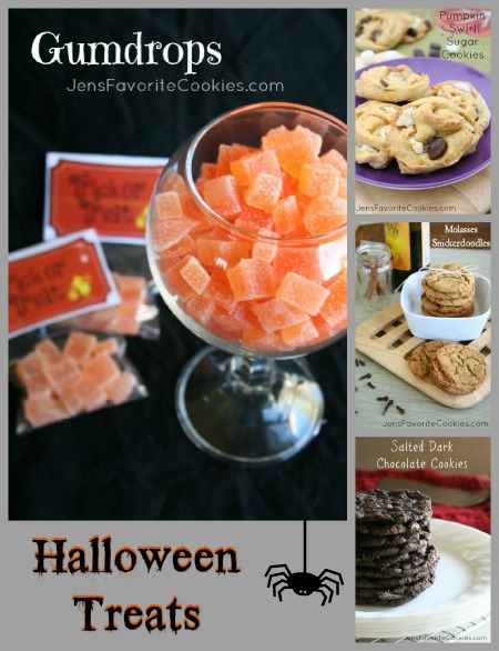 Homemade halloween treats