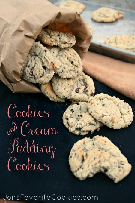 Oreo Pudding Cookies - JensFavoriteCookies.com