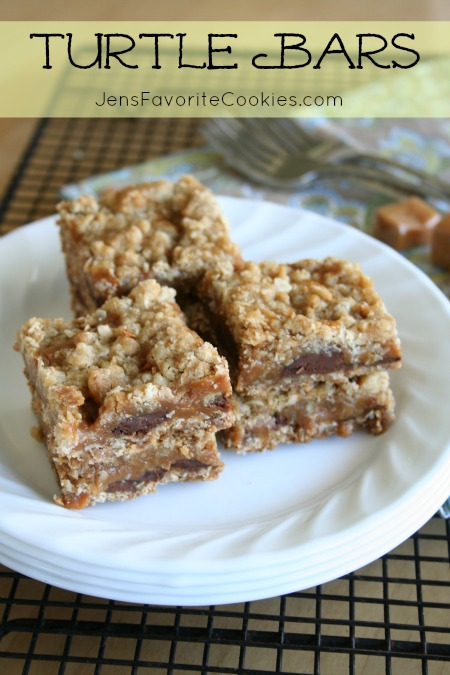 Turtle Bars from Jen's Favorite Cookies