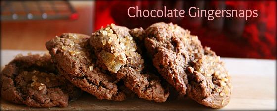 Chocolate Gingersnaps