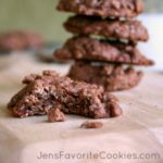 Chocolate Oat Cinnamon Chip Cookie