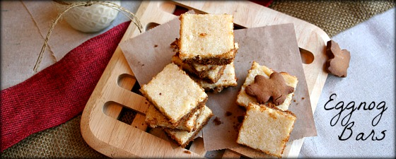 eggnog bars featured