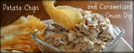 Chips & Onion Dip featured