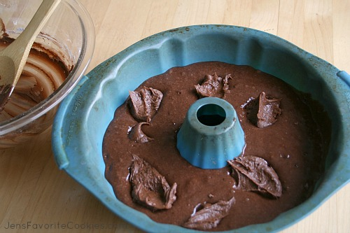 Pampered Chef Chocolate Bundt Cake