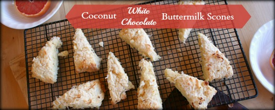 coconut scones