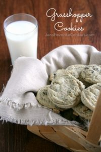 Grasshopper Cookies tall2b
