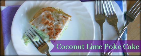 coconut lime poke cake featured