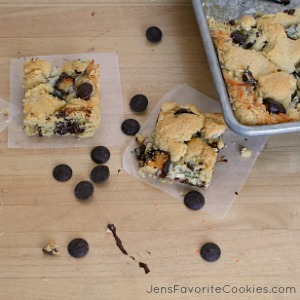 Coconut Chocolate Chip Bars