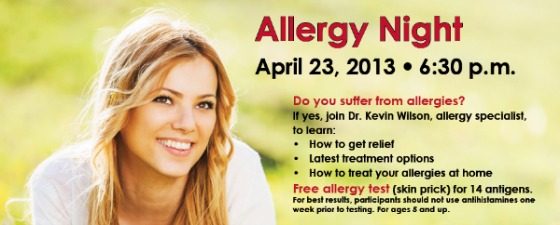 allergy night
