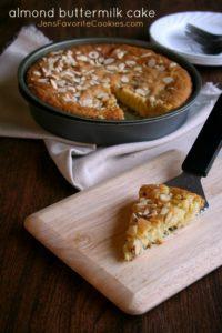 almond buttermilk cake tall1a