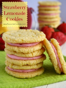 Strawberry Lemonade Cookies pin