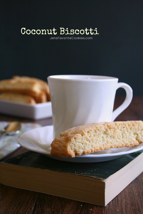 Coconut Biscotti from Jen's Favorite Cookies