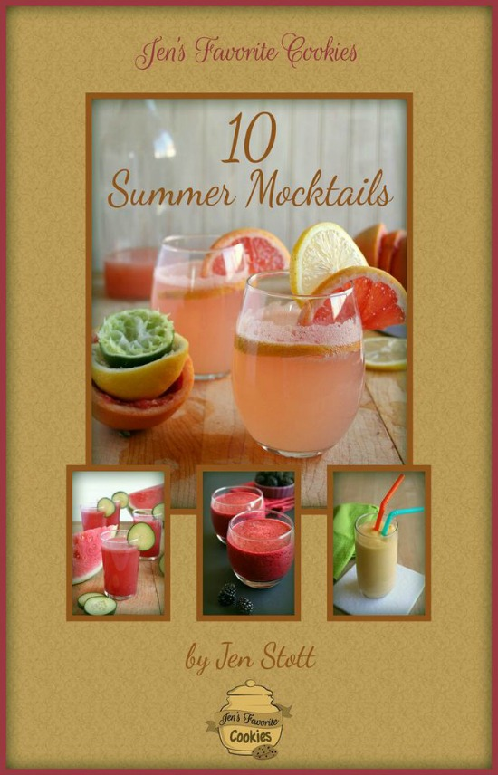 10 Summer Mocktails from JensFavoriteCookies.com