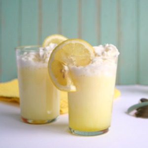 Lemon Cream Sodas from JensFavoriteCookies.com -  find lots more summer mocktail recipes here too!