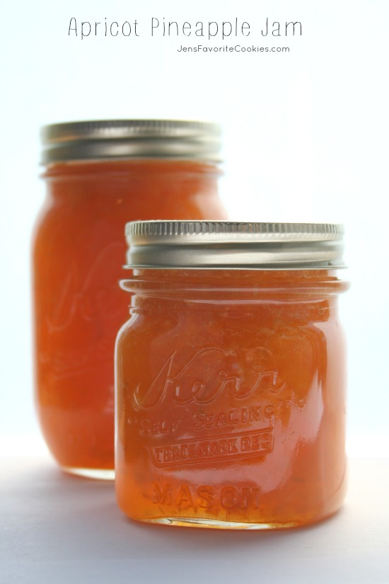 ... apricot jam is SO delicious! Plus, store bought jam is expensive, and