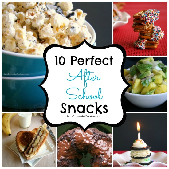 Why I make my kids eat after-school snacks | JensFavoriteCookies.com