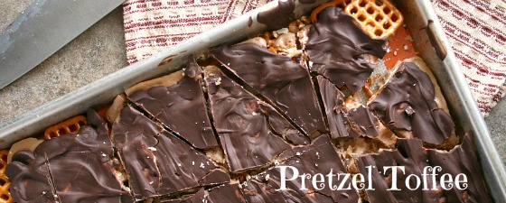 Pretzel toffee Candy