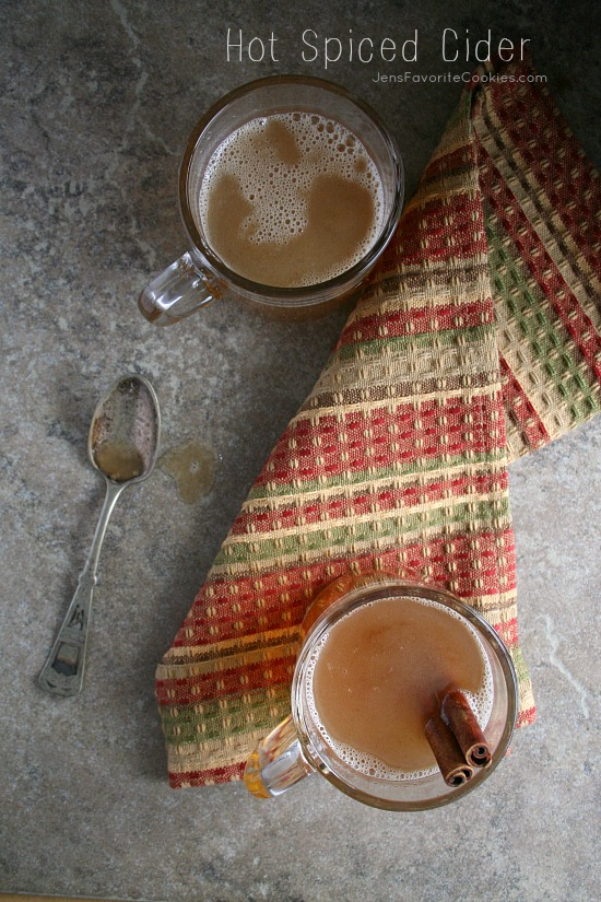 Hot Spiced Cider from Jen's Favorite Cookies