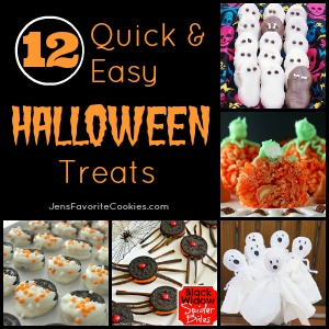 12 easy halloween treats - Fast And Easy Halloween Treats
