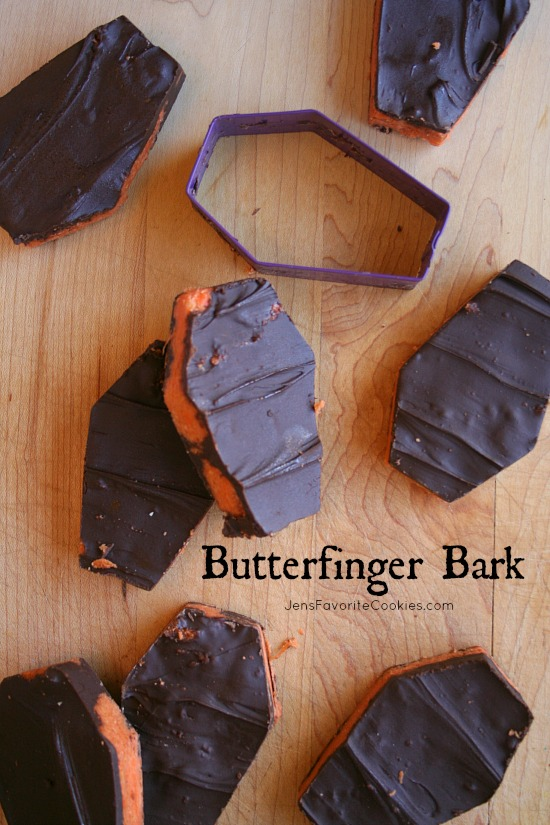 Butterfinger Bark from Jen's Favorite Cookies