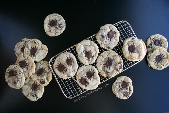 Spider Cookies for Halloween from JensFavoriteCookies.com