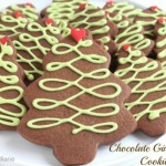 2-Chocolate-Gingerbread-Christmas-Tree-Cookies-@createdbydiane-530x353