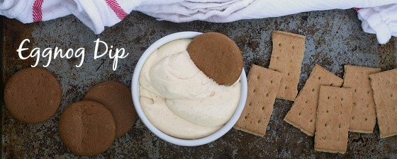 Eggnog Dip from Jen's Favorite Cookies