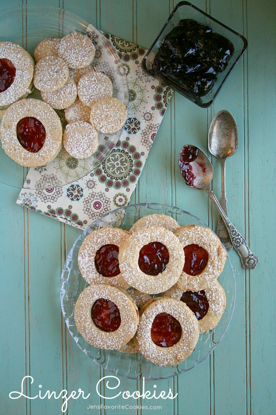 Linzer Cookies from Jen's Favorite Cookies