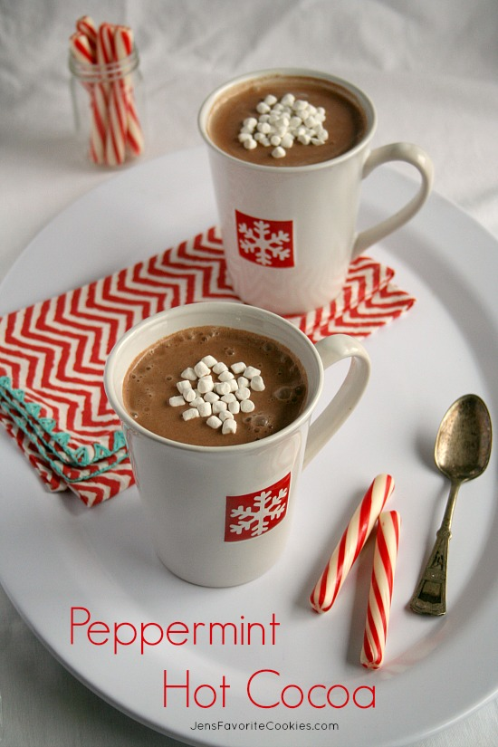 Peppermint Hot Cocoa from Jen's Favorite Cookies