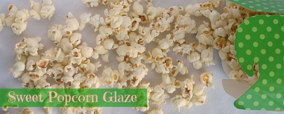 how to make sweet popcorn