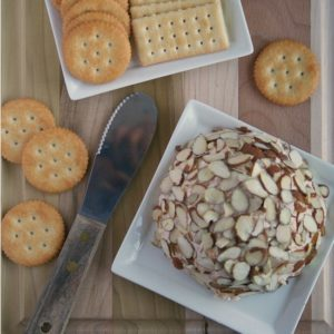 Garlic and Onion Cheese Ball from Jen's Favorite Cookies