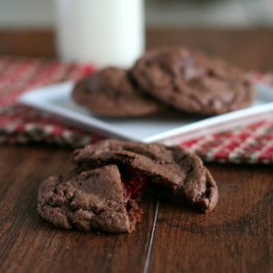 Chocolate Covered Cherry Cookies from Jen's Favorite Cookies
