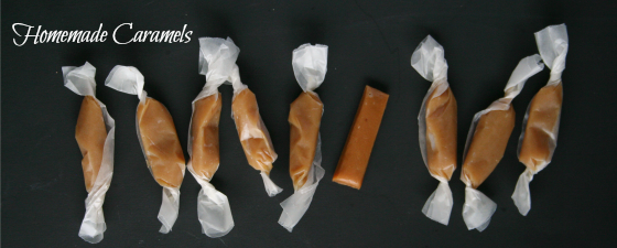 Homemade Caramels from Jen's Favorite Cookies