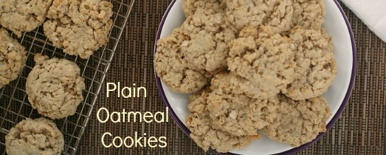 oatmeal cookies from scratch