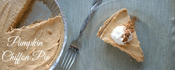 easy no bake pumpkin pie