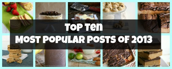 Top 10 Most Popular Posts of 2013 from Jen's Favorite Cookies