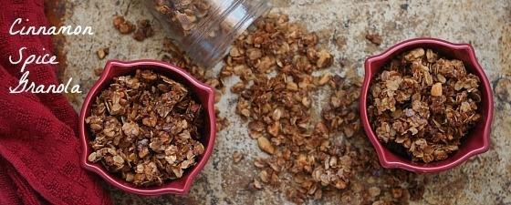 recipes for homemade granola