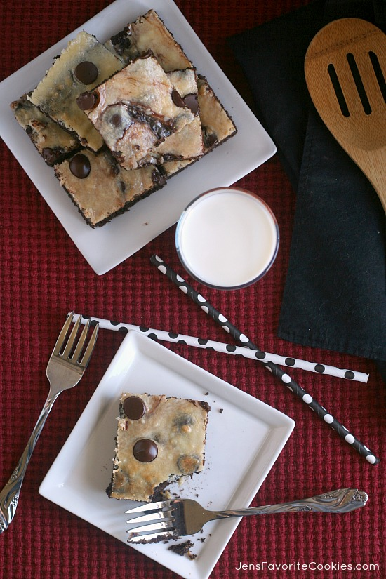 Dark Chocolate Cheesecake Bars from Jen's Favorite Cookies